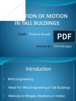 MITIGATION OF MOTION IN TALL BULDINGS.pptx