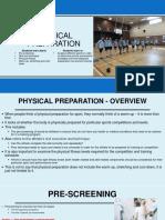 Physical Preparation (1)
