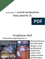 Contoh – contoh berdasarkan kelas abad ke-21 tutorial.pptx