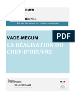 Vade-mecum Realisation Chef-d Oeuvre 1081404