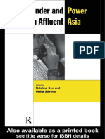 Krishna Sen - Gender and Power in Affluent Asia (New Rich in Asia) (1998)