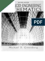 Advanced Engineering Mathematics 2nd Edition - Michael D. Greenberg