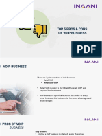 Top 5 Pros and Cons of VoIP Business