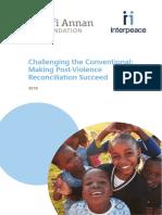 Reconciliation Report