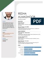 201602076 redha almadhoob cv