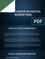 Build Career in Digital Marketing