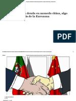 Portugal Emitirá Deuda en Moneda China, Algo Inédito en Un País de La Eurozona - ElEconomista.es