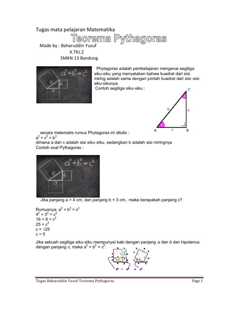 soal essay teorema pythagoras term paper academic writing service soal essay teorema pythagoras