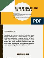 2018. Evaluasi Surveilans Gizi Melalui Eppgbm