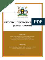 UgandaNationalDevPlan I