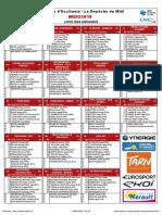 La liste complète des coureurs engagés