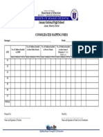 Consolidated Mapping Form