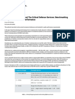 Coexistence With LTE and the Critical Defense Services Benchmarking Cooperative Receiver Performance