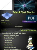 Test Studio - Web Testing