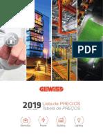 201906 Gewiss Pb11130es Lista de Precios 2019