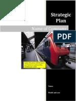 StrategicPlan Template