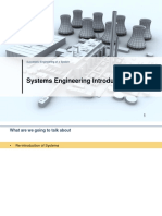 01 Systems Engineering - Systems and System Life Cycle