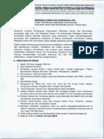 Penerimaan Konsultan Individual (KI) Dit. Perumusan Kebijakan Dan Evaluasi Tahun 2019