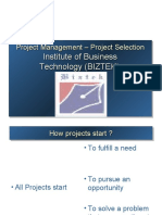 Project Selection Process