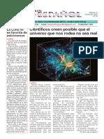 Artículo • Científicos creen posible que el universo que nos rodea no sea real (20161112).pdf