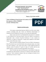 Resposta Creas Conceição Das Alagoas Mg