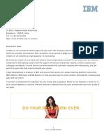 OfferLetter IBM