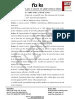Syllabus With Pattern IIT-JAM