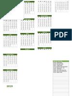 2019 Islamic Calendar (1)