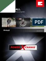 Einhell PowerXChange Flyer 01 En