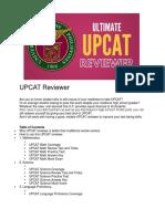 UPCAT Reviewer