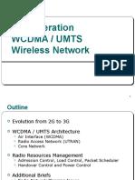 3 Generation WCDMA / UMTS