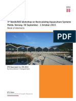 301 2015 3rd NordicRAS Workshop Recirculating Aquaculture Systems Book of Abstracts
