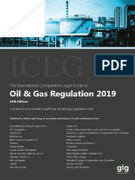 Iclg Oil Gas Regulation 2019