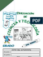 5° Ciencia y Tecnología