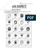 13 - Lab Safety - Review Worksheet(1)