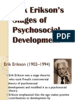 Erik Erikson's Stages of Personality Development