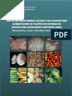 Materias Primas Alimentacion Tilapia