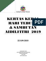 Contoh Kertas Kerja Hari Terbuka Mki 2019