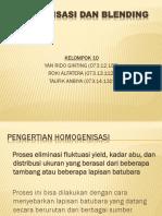 Homogenisasi Dan Blending