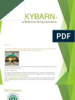 SKYBARN™ Company Profile