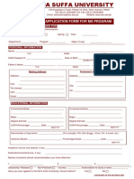Ms Admission Application Form2018