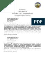 2 Calendario Della Stagione 2019-2020