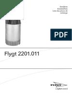 Parts list BS2201.011%2c 2012