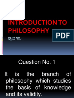Quiz 1 - Philo GAS