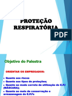 Treinamento Proteção Respiratória