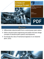 Introduction to Industrial Power Plant
