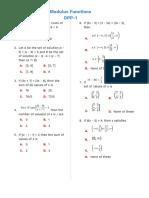 DPP 1_ Modulus Function