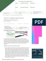 MCQs in Algebra and General Mathematics Part VI.pdf