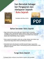 2.0 Bahan Bercetak Sebagai Sumber Pengajaran Dan Pembelajaran Sejarah-Buku Sejarah