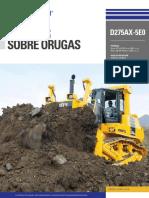 Catálogo Tractor Sobre Orugas D275AX 5E0 Español Digital